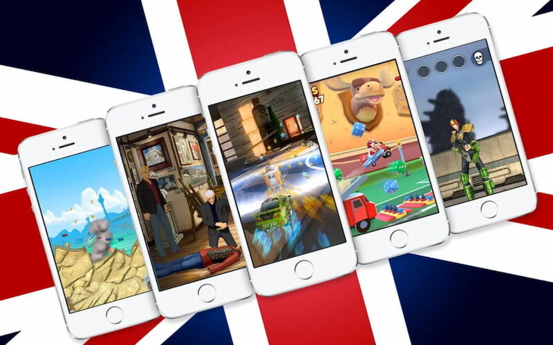 mobile games in the uk