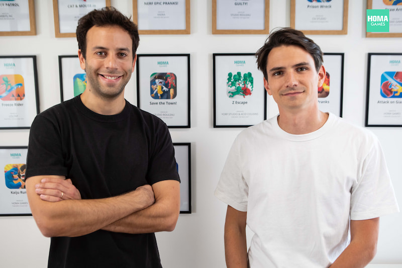 Co-Founders of Homa Games