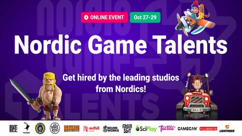 nordic game talents tr